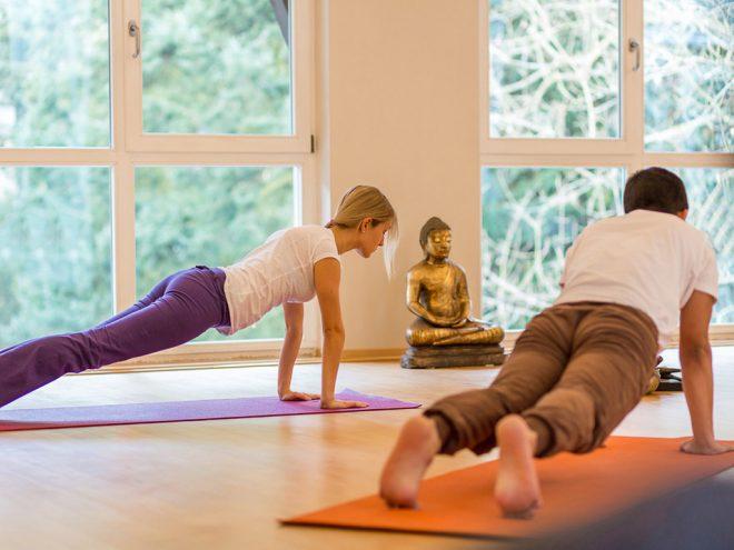 Yoga Übung für den Winter | Ayurveda Parkschlösschen Health Blog