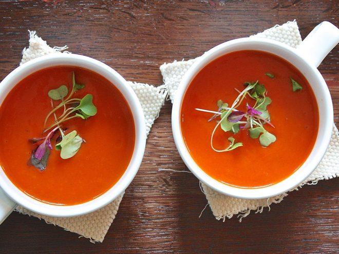Ayurveda Rezept: Paprika-Birnen-Suppe | Ayurveda Parkschlösschen Health Blog