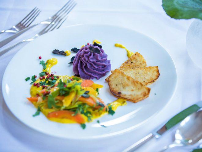 Ayurveda Rezept: Sellerieschnitzel an Karottengemüse und Püree von Blauen Schweden | Ayurveda Parkschlösschen Health Blog