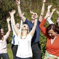 Lachyoga mit dem Ayurveda Parkschlösschen Team | Ayurveda Parkschlösschen Health Blog