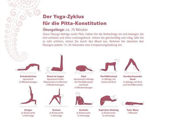 Yoga Abfolge für den Sommer