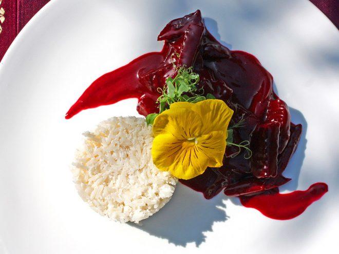 Ayurveda Rezept: Rote-Bete-Ragout an Kokosreis | Ayurveda Parkschlösschen Health Blog