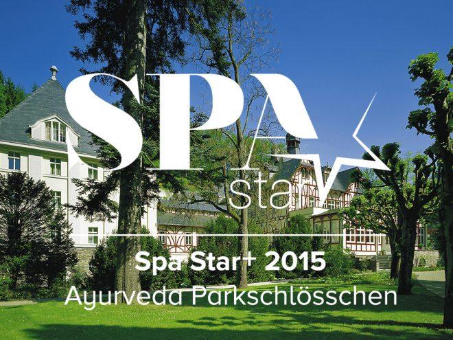 Das Ayurveda Parkschlösschen gewinnt den Spa Star Award 2015 | Ayurveda Parkschlösschen Health Blog
