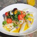 Ayurveda Rezept: Gewürzpfannkuchen an Spargel und Ruccola-Erdbeer-nest | Ayurveda Parkschlösschen Health Blog