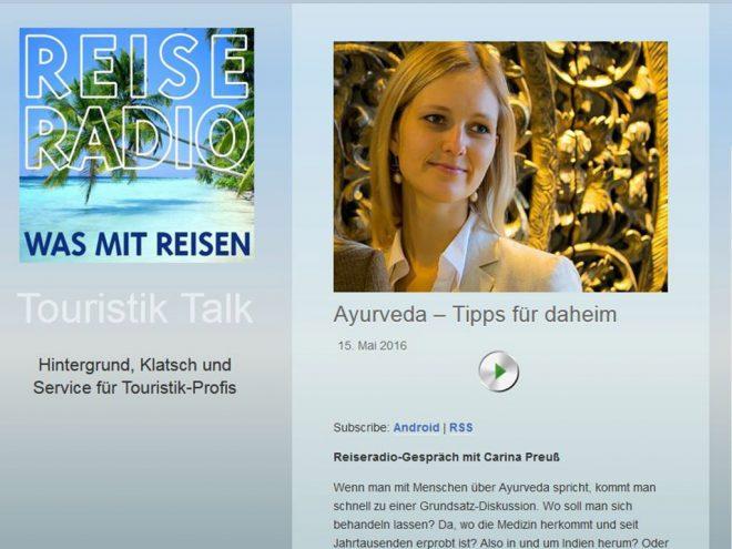 Ayurveda Experten im Reiseradio | Ayurveda Parkschlösschen Health Blog