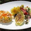 Ayurveda Rezept: Geschmorte Salatherzen an buntem Gurkengemüse und Basmatireis | Ayurveda Parkschlösschen Health Blog
