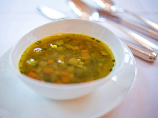 Ayurveda Rezept: Grüne Minestrone | Ayurveda Parkschlösschen Health Blog