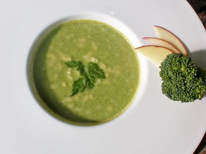 Ayurveda Rezept: Brokkoli-Apfel-Suppe | Ayurveda Parkschlösschen Health Blog