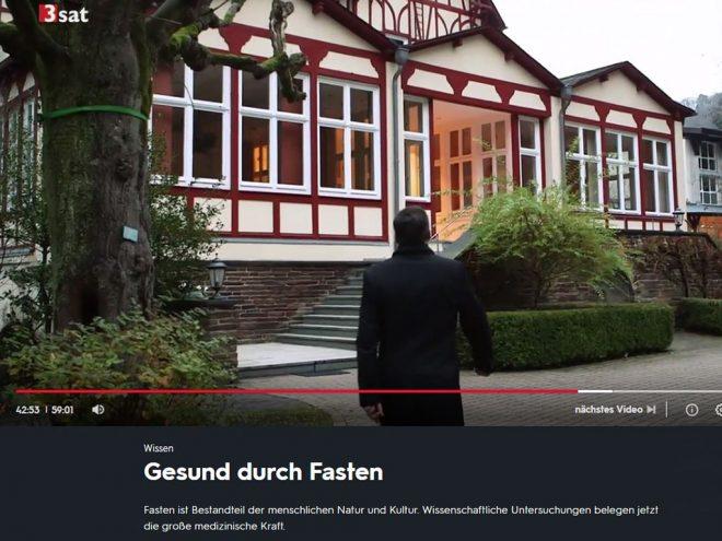 """Das Ayurveda Parkschlösschen in der 3sat Sendung """"Scobel"""" zum Thema Fasten"""