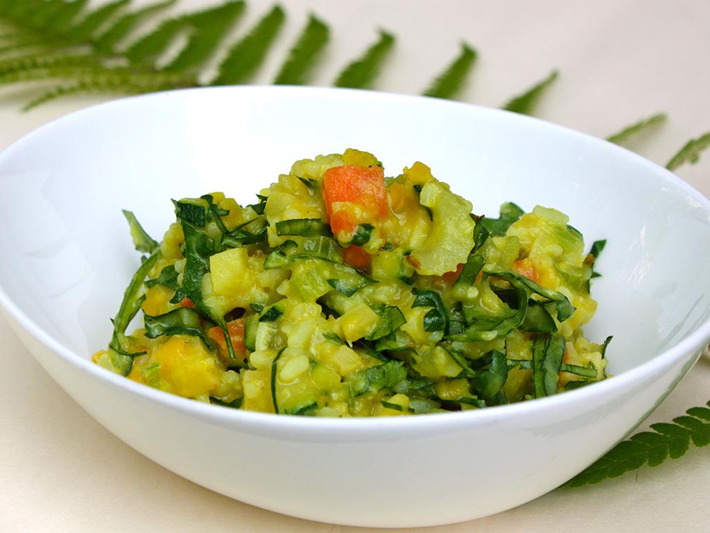 Kitchery mit Reis und Mungbohnen: Rezept im Ayurveda Parkschlösschen Blog