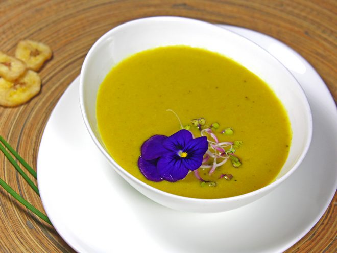 Ayurveda Rezept: Bananencremesuppe | im Ayurveda Parkschlösschen Health Blog