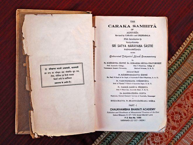 Die Charaka Samhita, die Urschriften des Ayurveda | Ayurveda Parkschlösschen Health Blog