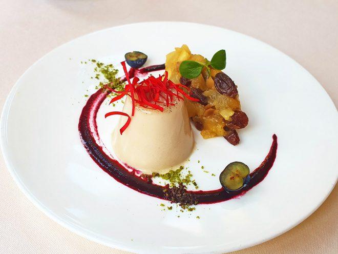 Ayurveda Rezept: Tonkabohnen-Panna-Cotta mit Bratapfelsalat | Ayurveda Parkschlösschen Health Blog