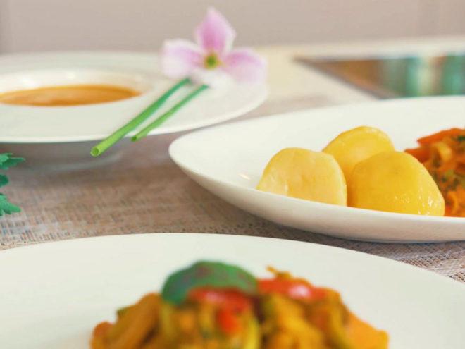 Easy Ayurveda Cooking Guide Basisezept für ein Curry, ein Ragout oder eine Suppe | In 3 Schritten ayurvedisch kochen | Ayurveda Parkschlösschen Health Blog