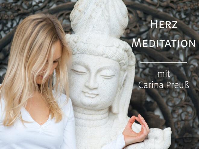 Herzmeditation mit Carina Preuß | Ayurveda Parkschlösschen Health Blog